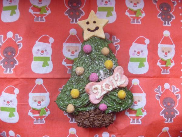 クリスマスケーキの画像:2012年